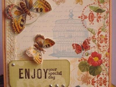 Tutorial mini álbum scrapbook