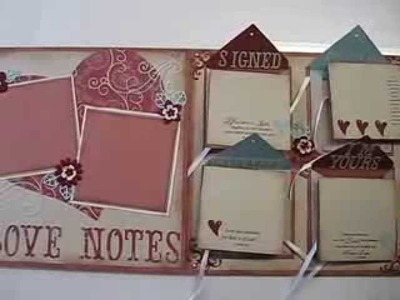 Valentines,  Love and Faithbooking 12x24 Scrapbooking Layout