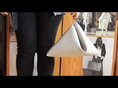 12 DAYS of DIY: Origami Bag inspired by Céline