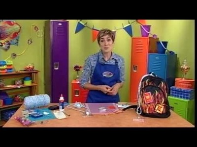1506-1 Decorate a backpack on Hands On Crafts for Kids