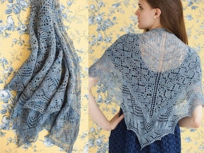 #28 Lace Shawl, Vogue Knitting Early Fall 2012