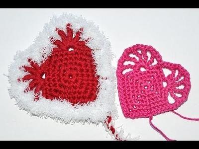 """Advent Calendar * December 19 * Crochet Heart """"Truth & Love"""""""