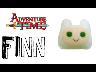Adventure Time : How to make a Finn Plushie Tutorial