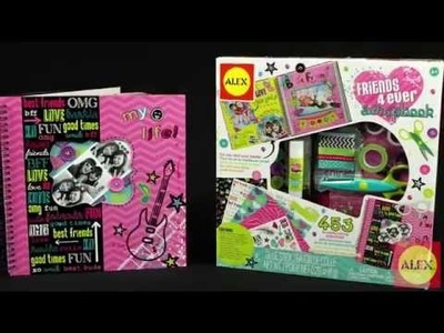 ALEX Toys  Friends 4 Ever Scrapbook 106BF