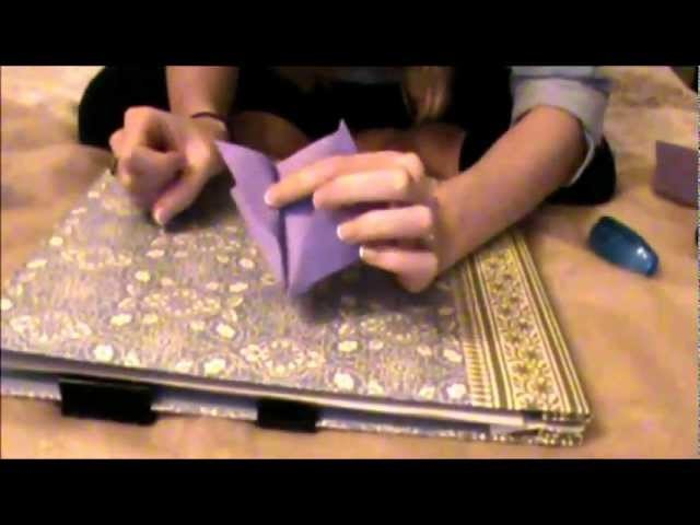 *ASMR* Paper Folding.Flipping - Kusudama Flower Tutorial :-)