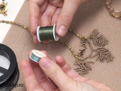 Beadaholique's Learn to Bead Video Series, Video #3: All About Stringing Materials