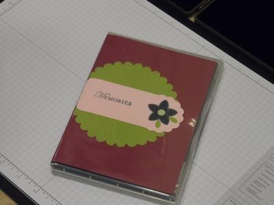 Clear Stamp Case Mini Scrapbook