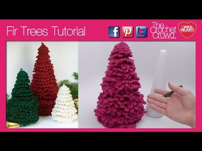 Crochet Fir Trees, Christmas Trees