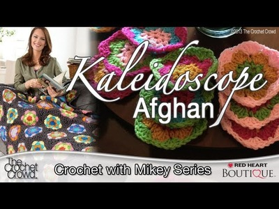 Crochet Kaleidoscope Afghan Tutorial
