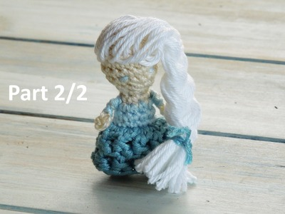 (crochet) Pt2: How To Crochet a Mini Princess Doll (fiddly!!) - Yarn Scrap Friday