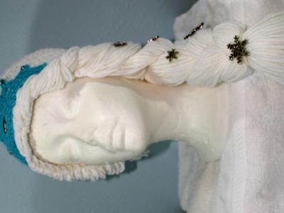 #Crochet -  winter princess hat (video two)