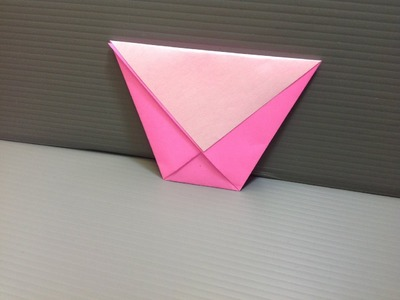 Daily Origami: 007 - Cup