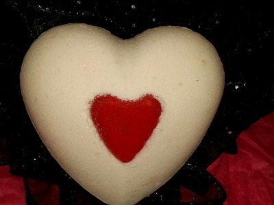 DIY: BATH BOMBS SCENTED AND COLORED \ HEART SHAPES