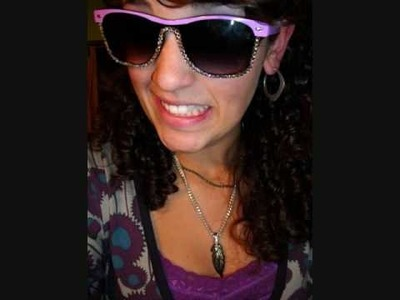 DIY Bling on your sunglasses