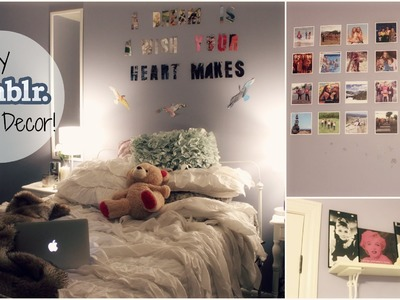 DIY Cheap & Easy Tumblr Inspired Room Decor! | xoxosolie