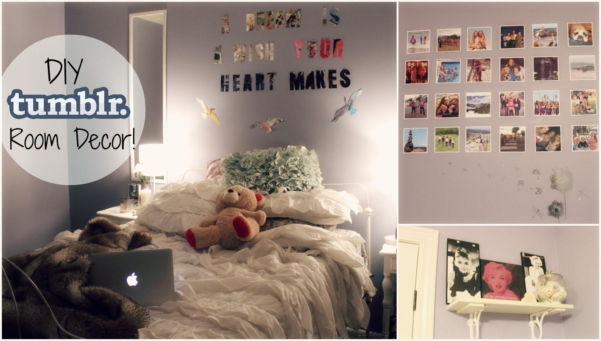 DIY Cheap & Easy Tumblr Inspired Room Decor!   xoxosolie