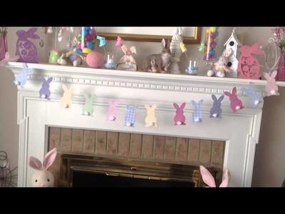 DIY Cheap Easter Decor Dollar Tree Style!!