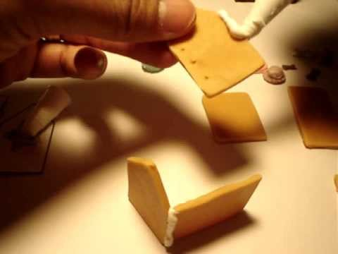 DIY Deco Den Kawaii How To Make An Ultra Kawaii Gingerbread House pt 1