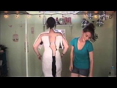 DIY. Duct Tape Dress Form
