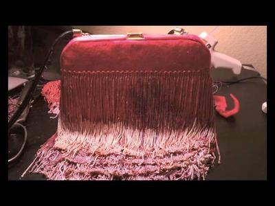 DIY Fringe Cross Body Bag