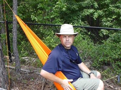 DIY Gear Hammock and Camp Seat Part 2