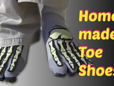 DIY Home Made Toe Shoes