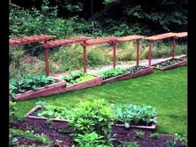 DIY Simple Backyard garden design ideas