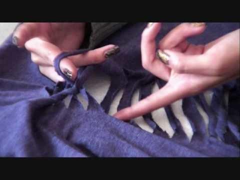 DIY; Slit Shirt Design #1