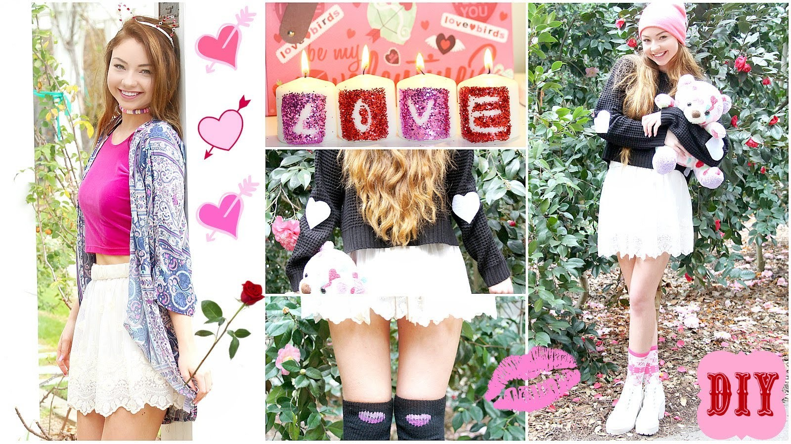 DIY Valentine's Day: Hair accessories, clothing, decor & more!