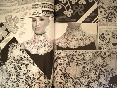 Duplet Irish Lace 6 Crochet patterns magazine Special Relize