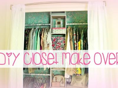 Easy DIY Closet Make Over | Belinda Selene