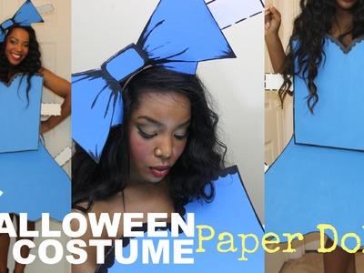 Easy DIY Halloween Costume   Paper Doll