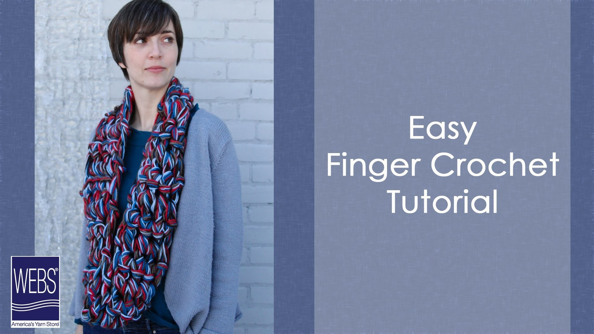 Easy Finger Crochet Tutorial