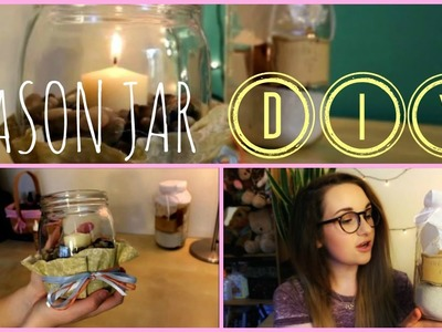 EASY MASON JAR CRAFTS ✿DIY✿