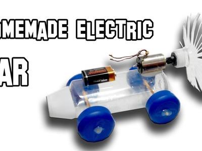 Electric Car DIY Homemade Experiment