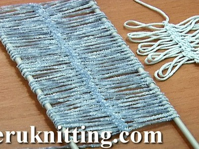 Hairpin Lace Strips Tutorial 2 Basic Hairpin Crochet