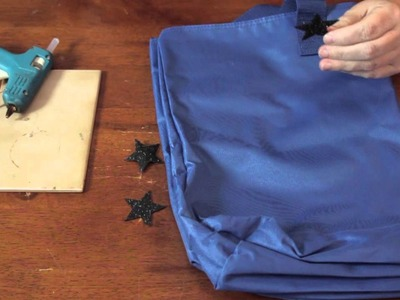 How to Attach Felt to a Tote Bag : Cool & Functional Crafts