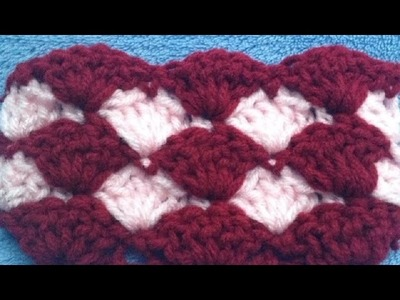 How to Crochet a Solid Shell Stitch │ by ThePatterfamily