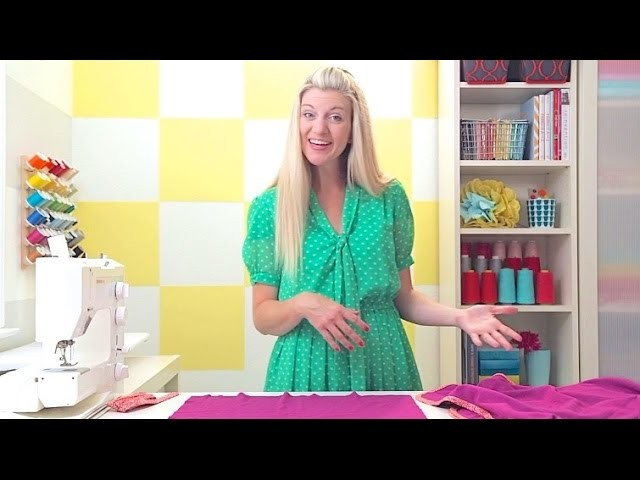 How to make a Baby Blanket • quick + easy!