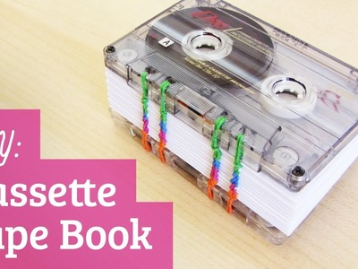How to Make a Book: Cassette Tape