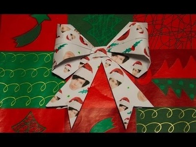 How To Make A Christmassy Dan & Phil Origami Bow!
