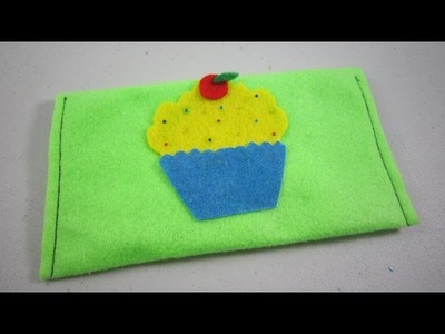 How to make a cupcake pencil case - EP