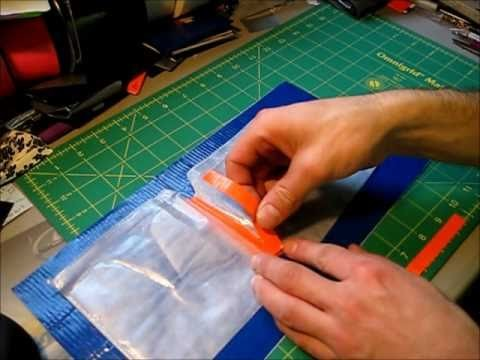How to make a Duct tape CD case - Hybrid tutorial
