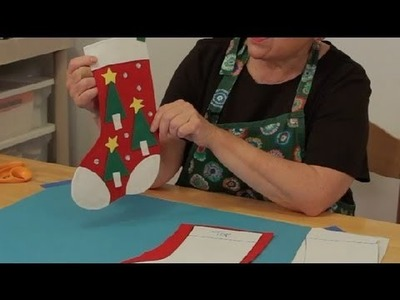 How to Make a Homemade, Felt Christmas Stocking : Christmas Crafts
