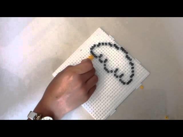 How to make a Kawaii Cupcake out of Perler beads