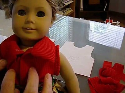 How to Make a Sleeveless Knit Tank Top for Dolls Pt. 2