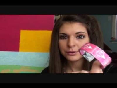 How to make a Starburst wrapper bangle [bracelet].