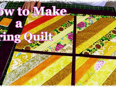 How to Make a String Quilt From Your Scrap Stash (Tutorial)
