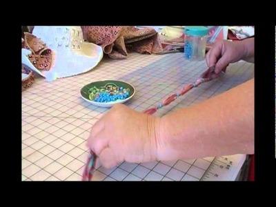 HOW TO MAKE THE BANDANNA PONY BEAD NECKLACE