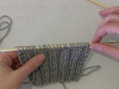 How to Pick up Stitches after Frogging or Ripping